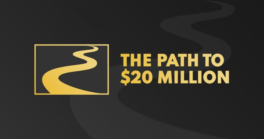 Path to $20 Million Social Share