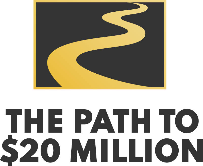 Path to $20 Million Logo Vertical